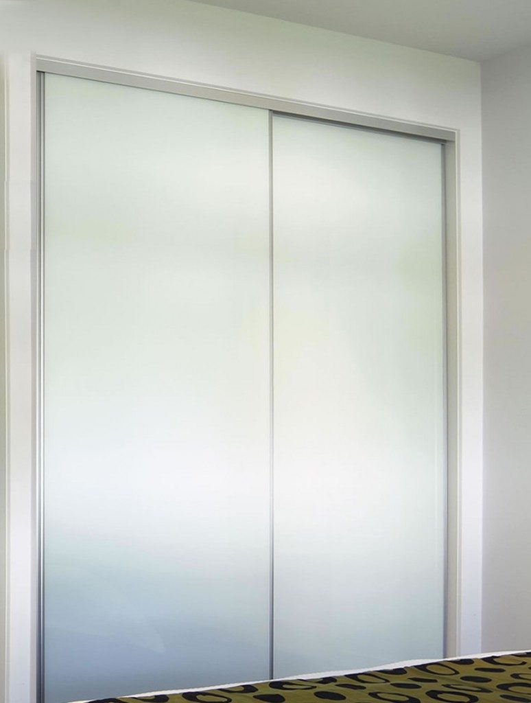White Glass Silding Doors Wardrobe Wardrobe Design Centre
