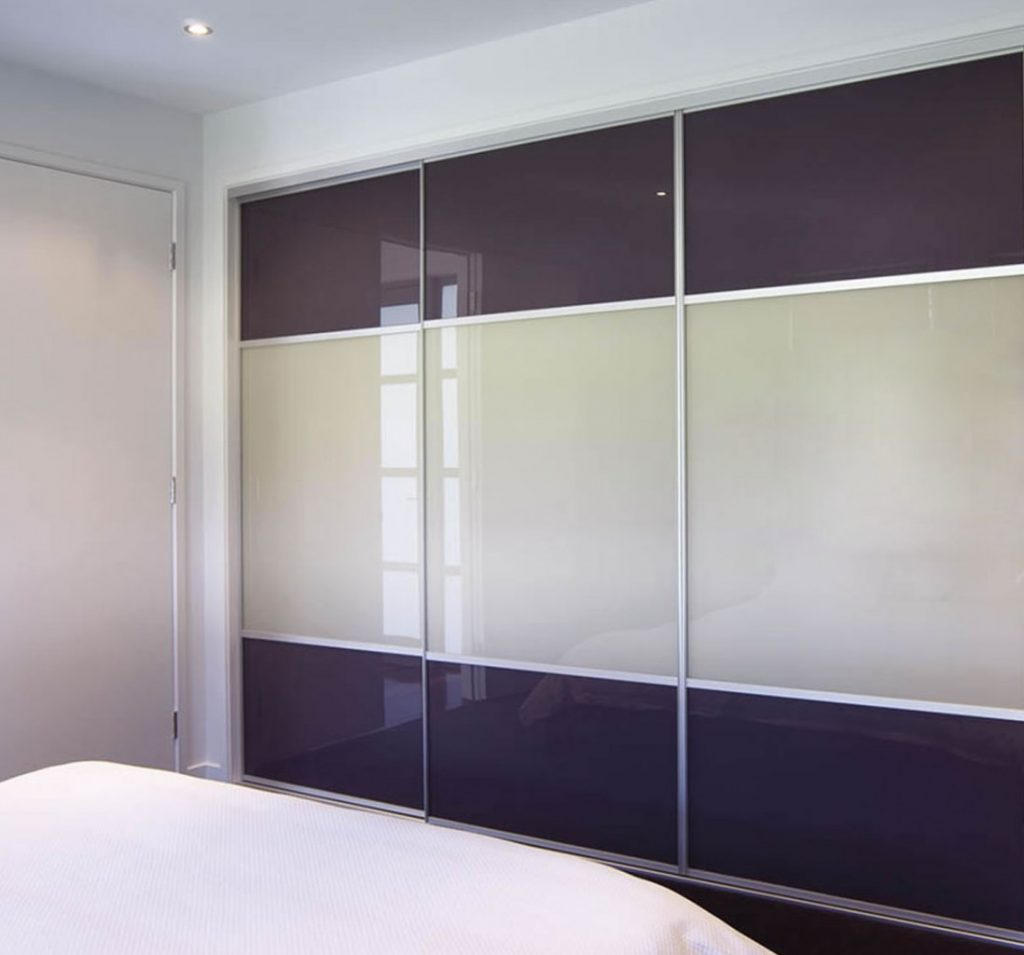 Coloured Glass Silding Doors Wardrobe Wardrobe Design Centre